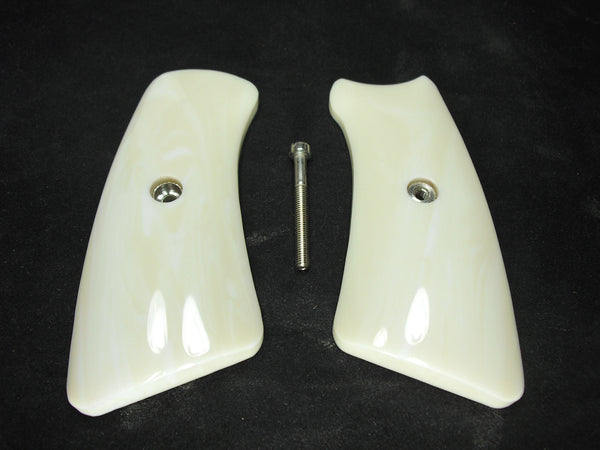 Faux Ivory Ruger Gp100 Grip Inserts