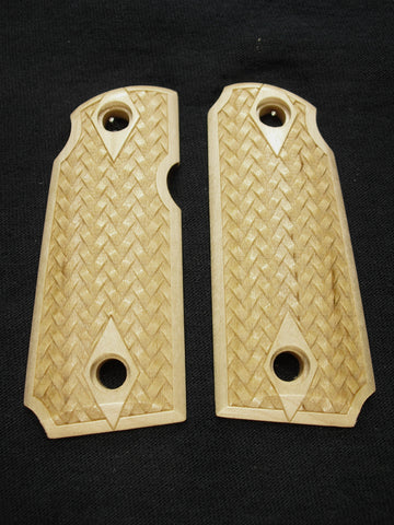 Braided Weave Maple Kimber Micro 380 Grips