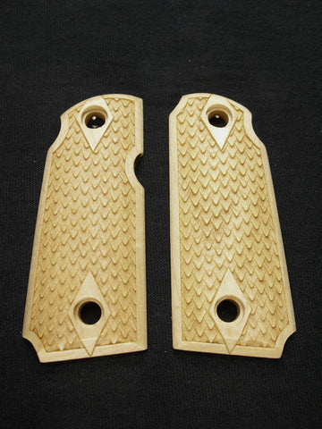 Dragon Scale Maple Kimber Micro 380 Grips