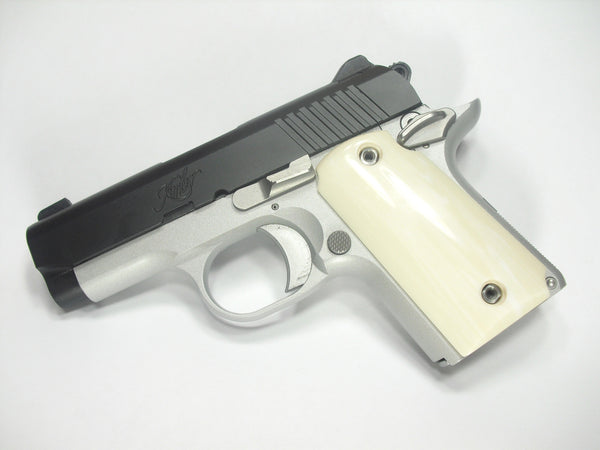 Faux Ivory Kimber Micro 9 Grips