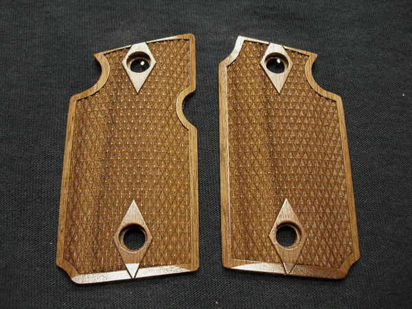 Double Diamond Walnut Sig Sauer P938 Grips