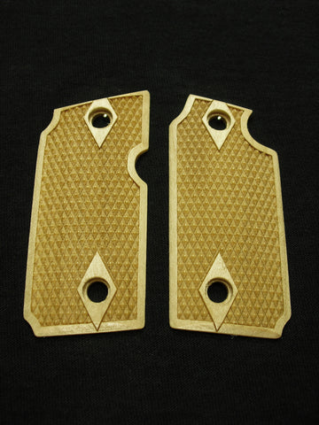 Double Diamond Checker Maple Sig Sauer P238 Grips