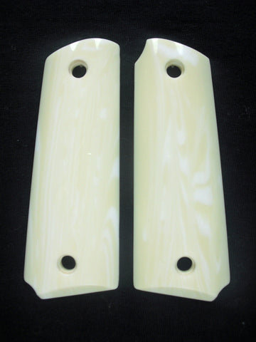 Faux Ivory Ruger Mark III 22/45 Grips