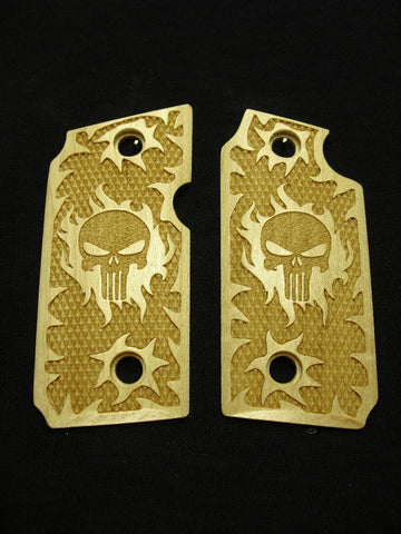Punisher Maple Sig Sauer P238 Grips