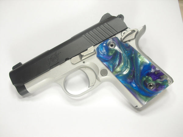 Abalone Pearl Kimber Micro 9 Grips