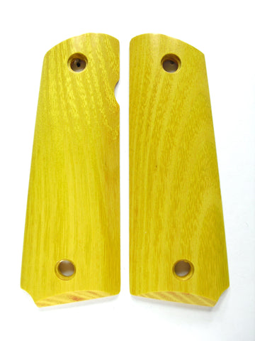 Osage Orange/Hedge 1911 Grips (Full Size)