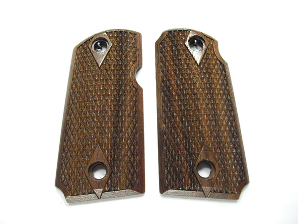 Double Diamond Walnut Kimber Micro 9 Grips