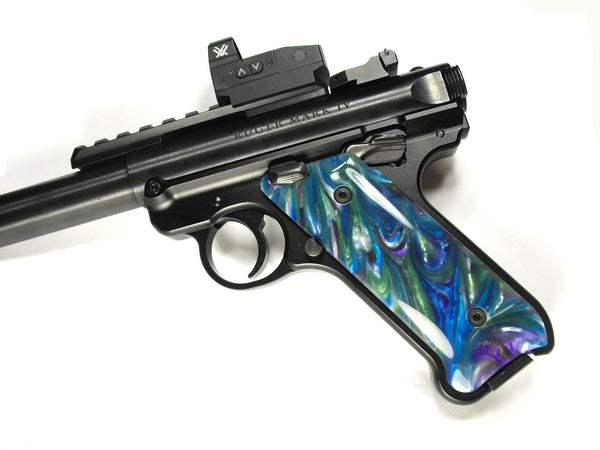Abalone Pearl Ruger Mark IV Grips