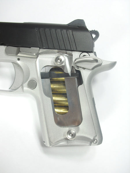 Clear Kimber Micro 9 Grips
