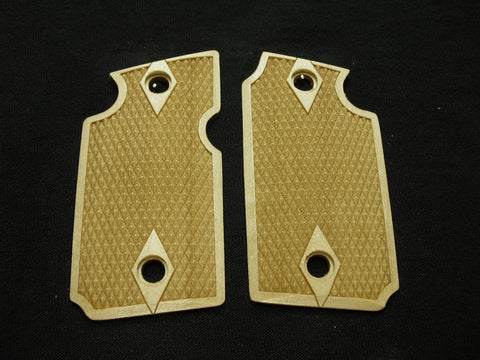 Double Diamond Maple Sig Sauer P938 Grips