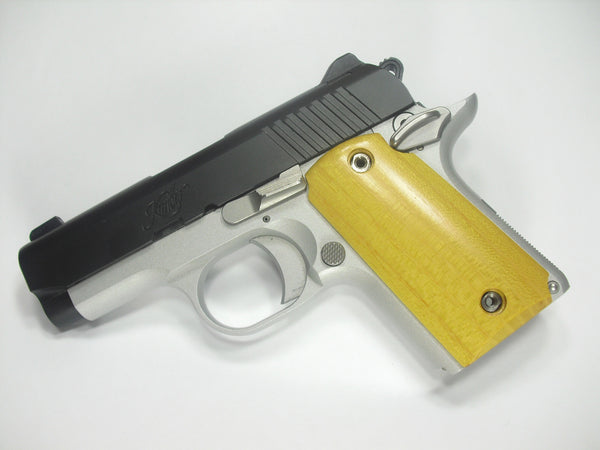 Hedge/Osage Orange Kimber Micro 9 Grips