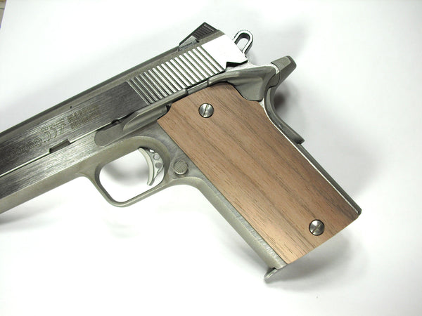 Unfinished Walnut Compact Coonan .357 Grips