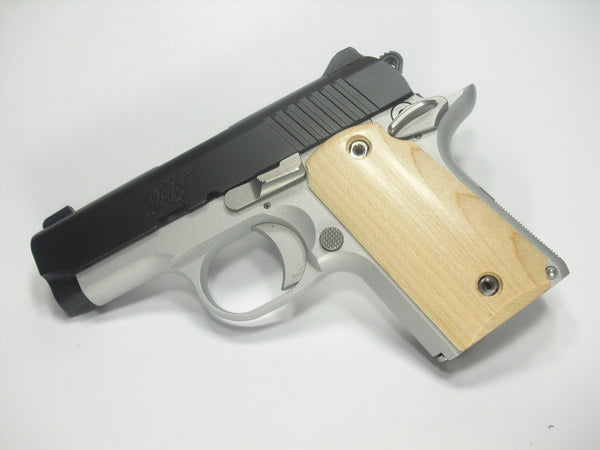 Maple Kimber Micro 9 Grips