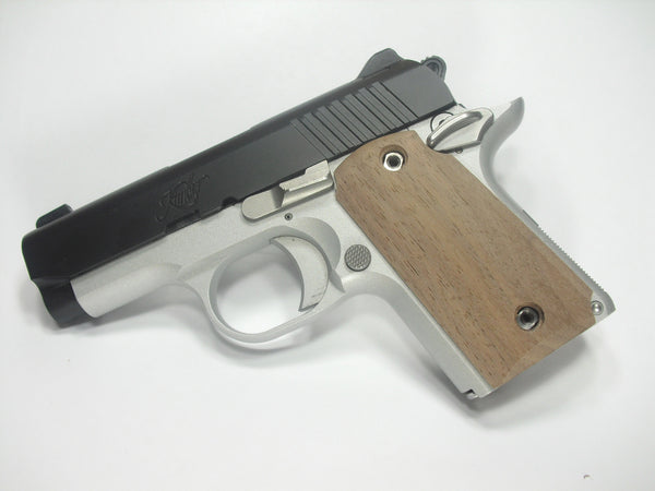 Unfinished Walnut Kimber Micro 9 Grips
