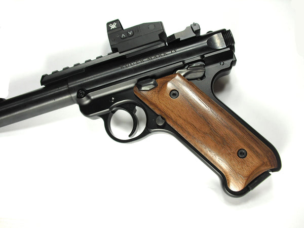 Walnut Ruger Mark IV Grips