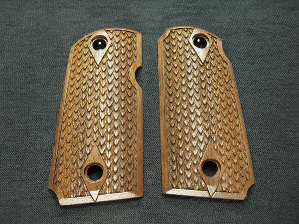 Dragon Scale Walnut Kimber Micro 9 Grips