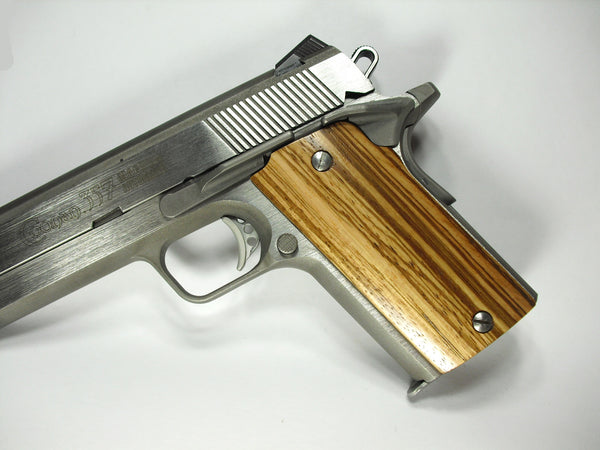 Zebrawood Compact Coonan .357 Grips