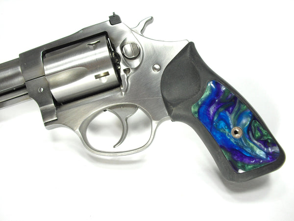 Abalone Pearl Ruger Sp101 Grip Inserts