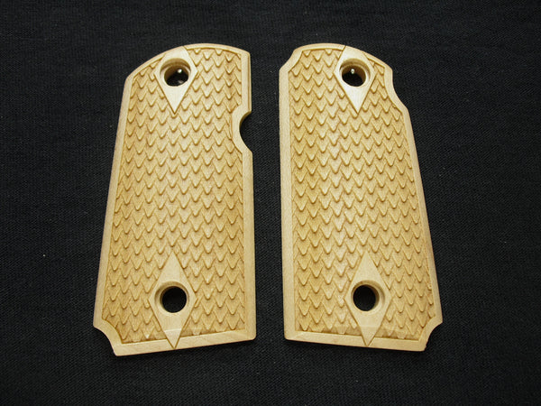 Dragon Scale Maple Kimber Micro 9 Grips