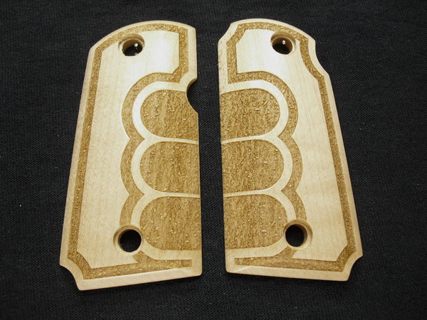Grip Tape Texture Maple Kimber Micro 9 Grips
