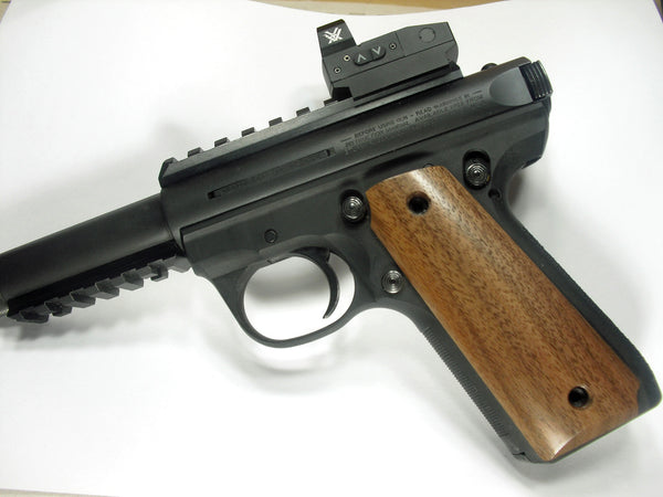 Walnut Ruger Mark III 22/45 Grips