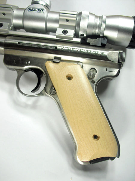 Maple Ruger Mark II/III Grips