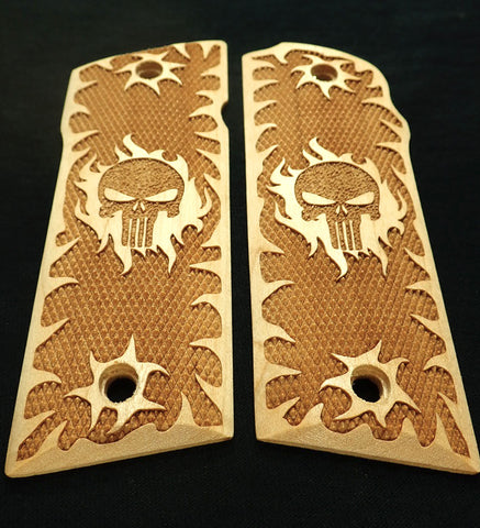 Maple Punisher Coonan .357 Grips