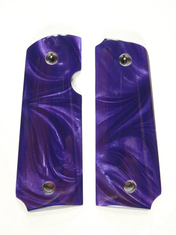Purple Pearl Rock Island 380 1911 Grips