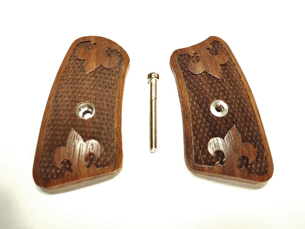 Checker Walnut Ruger Sp101 Grip Inserts
