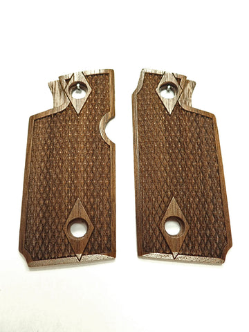 Double Diamond Walnut Springfield Armory 911 .380 Grips