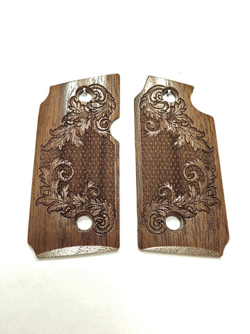 Floral Checker Walnut Sig Sauer P238 Grips