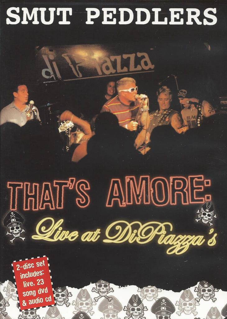Live at DiPiazza's /That's Amore - compact disc + dvd