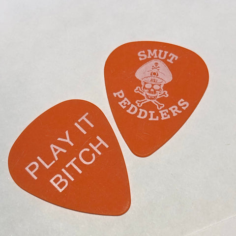 guitar pick - PLAY IT BITCH