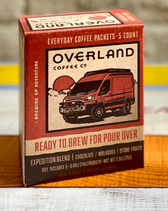 Pour Over Everyday Coffee Packets 5-Count Box