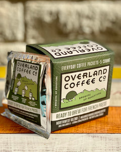 French Press Everyday Coffee Packets 5-Count Box