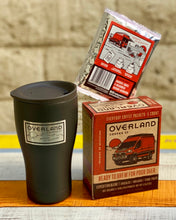 Load image into Gallery viewer, Pour Over Everyday Coffee Packets 5-Count Box and Earthwell Tumbler with Lid