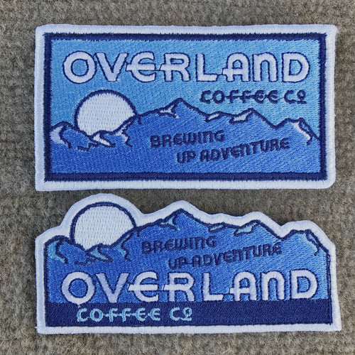 Overland Coffee Co. Patch