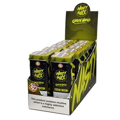 Nasty Juice 50/50 Green Mango 10ml