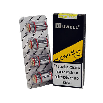 Crown III Coil 4 pcs
