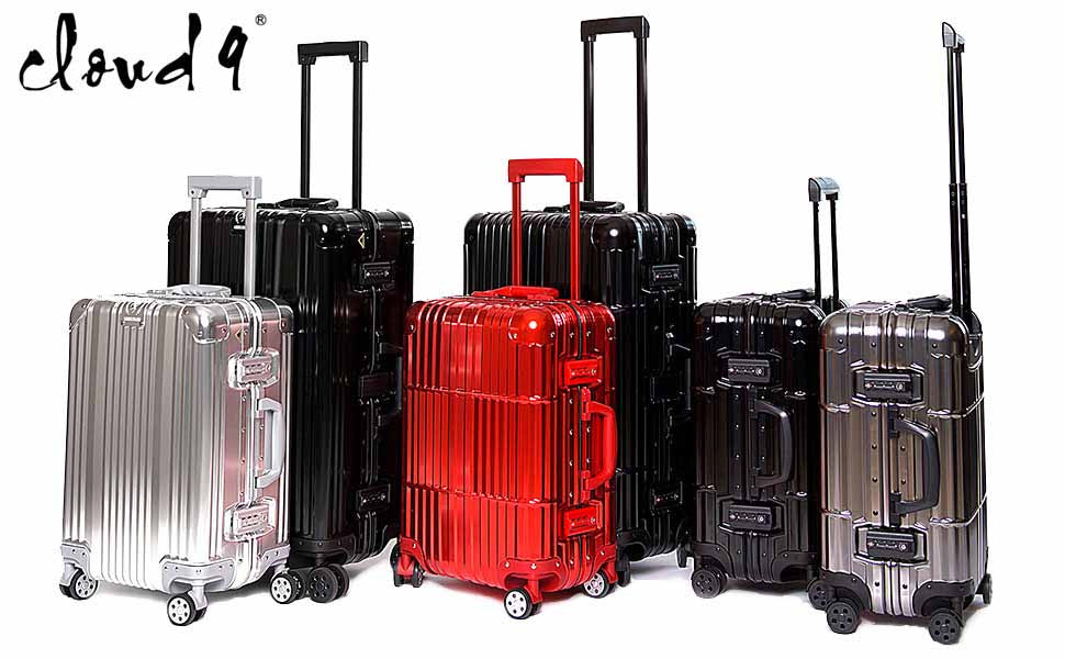 e71158e0d Cloud 9 brings you a high quality carry on luggage/suitcase for all your  travel needs, fits perfectly into the sizer at the airport.