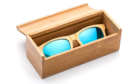 Genuine Handmade Bamboo Case for Glasses