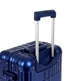 "24"" Aluminum Luggage (Blue)"