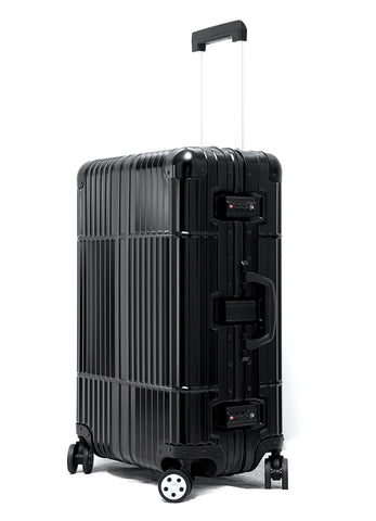 "28"" Aluminum Luggage (Black)"