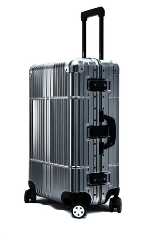 "24"" Aluminum Luggage (Gunmetal)"