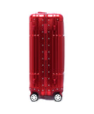"24"" Aluminum Luggage (Red)"