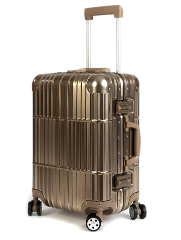 "20"" Aluminum Luggage Carry-On (Champagne)"