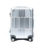 "20"" Aluminum Luggage Carry-On (Silver)"
