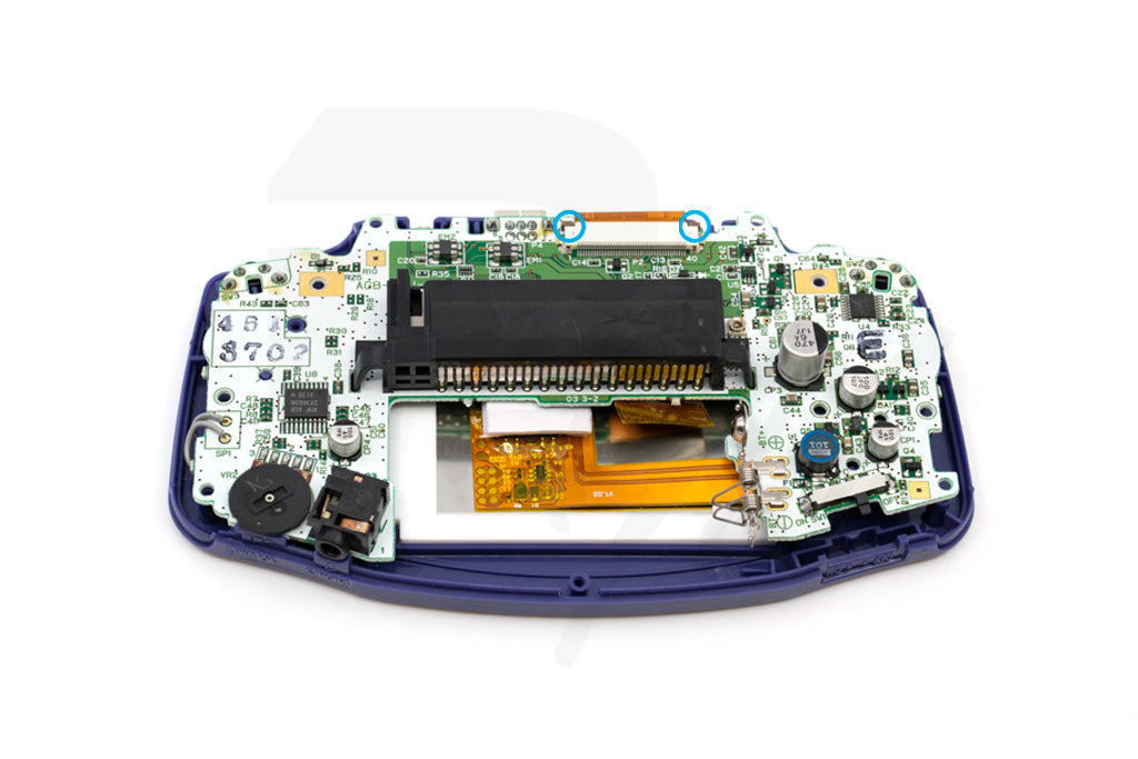 Connect GBA PCB