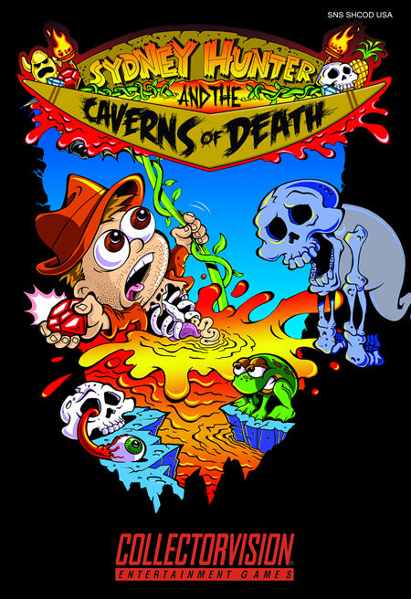 Sydney Hunter & The Caverns of Death