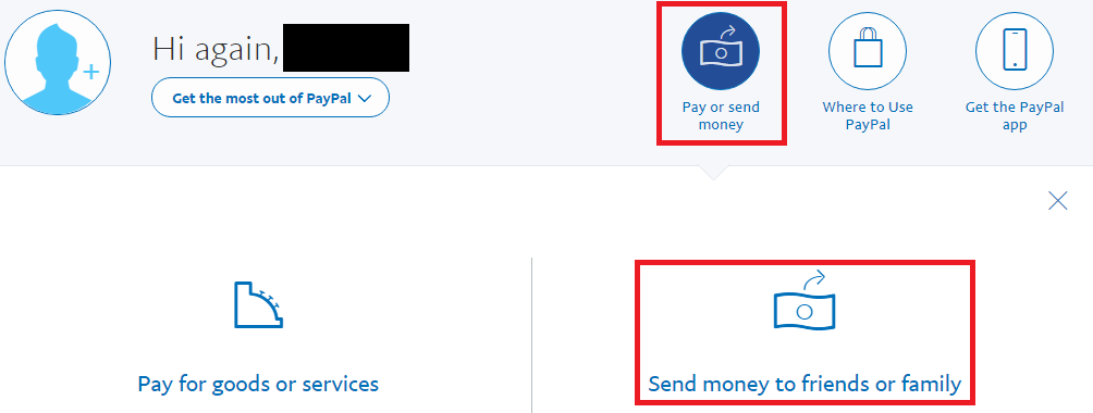 Paypal As Friend